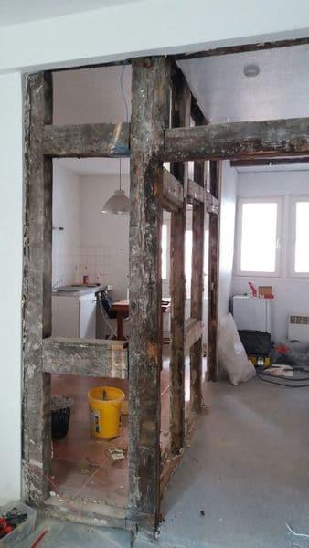 Travaux de rénovation à Strasbourg - rénovation cuisine la petite france