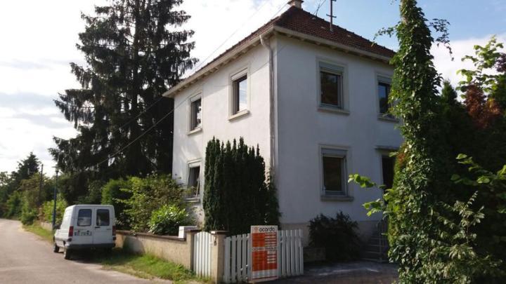 Travaux en cours dans une maison à Gambsheim