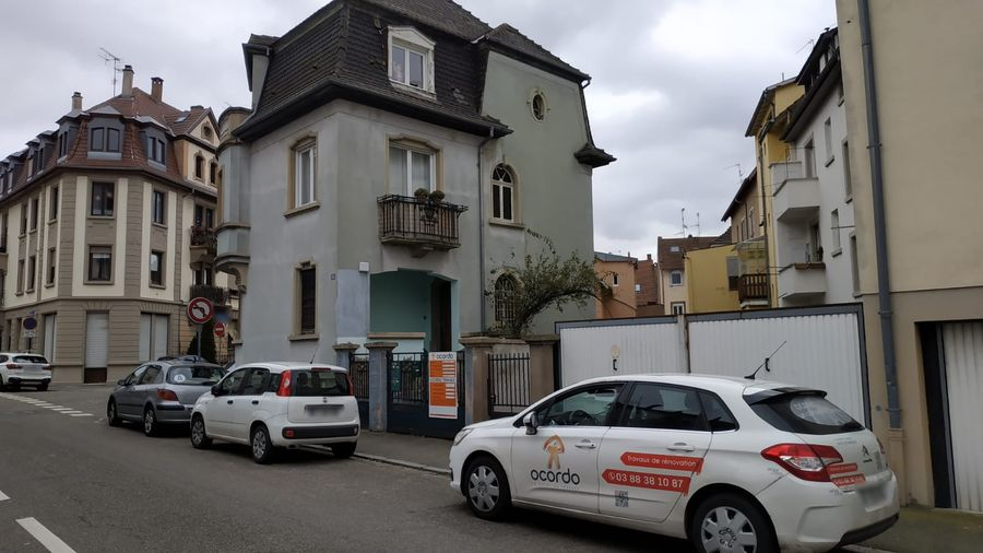 Démarrage travaux de rénovation façade et toiture à Strasbourg