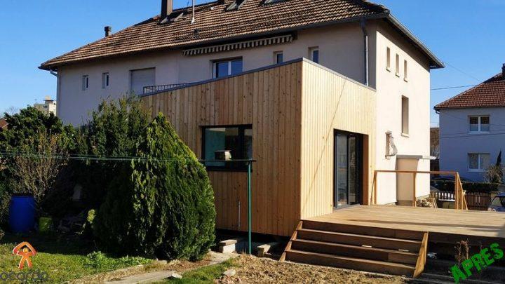 Création d'une extension à Strasbourg