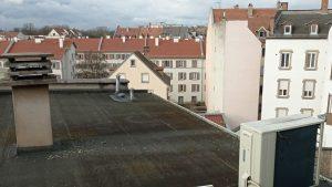 Rénovation et aménagement d'un toit terrasse de Strasbourg
