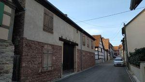 Estimatif pour des travaux de rénovation à Bergbieten