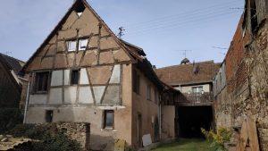 Estimatif pour des travaux de rénovation à Mittelbergheim